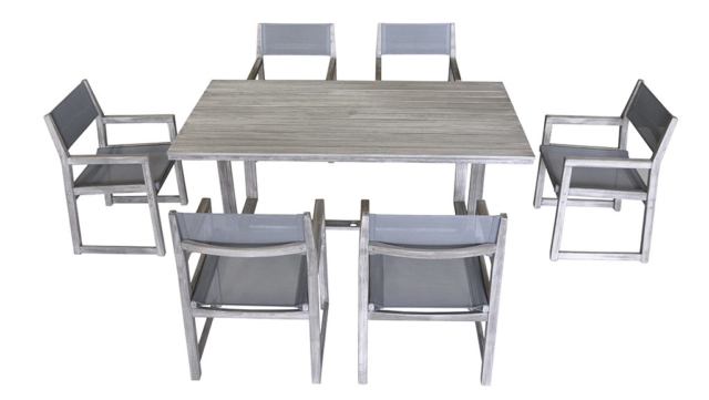 Kingston Casual Outdoor Furniture Bayside Sling Rectangle table