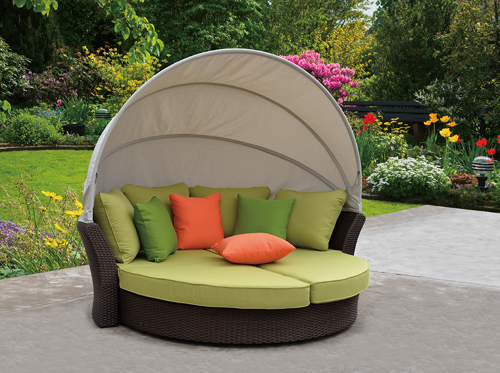 Kingston Casual Outdoor Furniture Eclipse Daybed Loveseat Combo