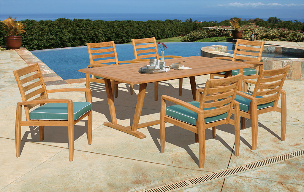 Kingston Casual Encore Teak Dining