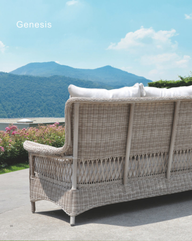 Kingston Casual Outdoor Furniture Genesis Back