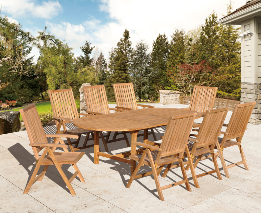 Kingston Casual Outdoor Furniture Heritage 7 pieces dining