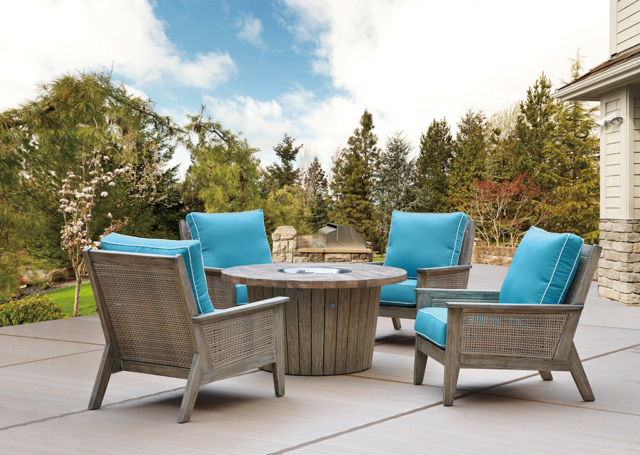 Kingston Casual Outdoor Furniture Nantucket Eucalyptus