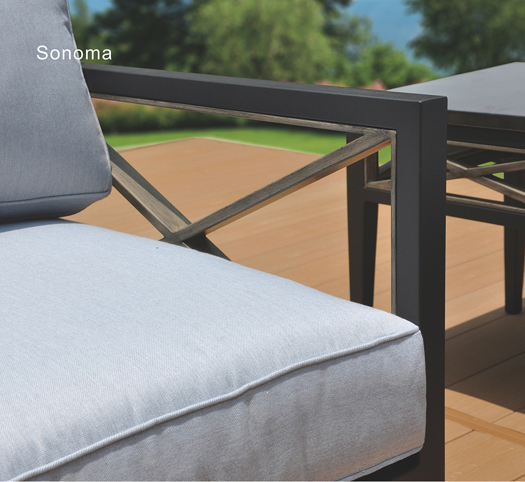 Kingston Casual Outdoor Furniture Sonoma Close up