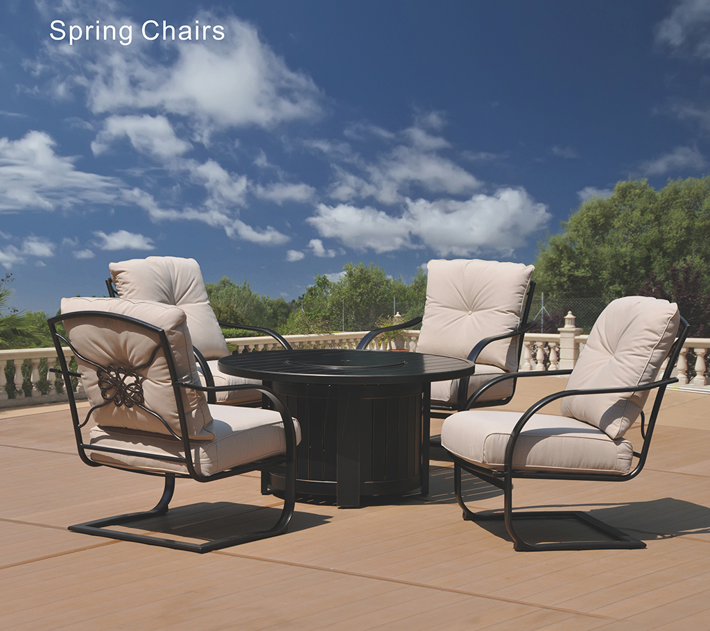 Kingston Casual Spring Chairs Table Set