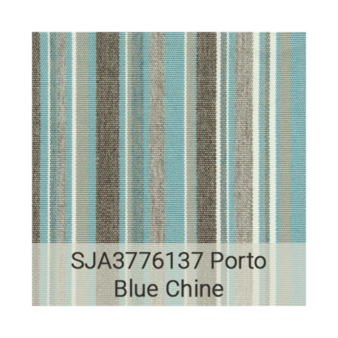 Kingston Casual Sunbrella Grade C SJA3776137 Porto Blue Chine