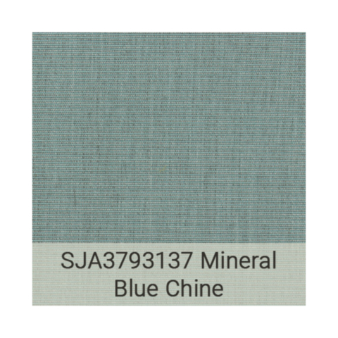 Kingston Casual Sunbrella Grade C SJA3793137 Mineral Blue Chine