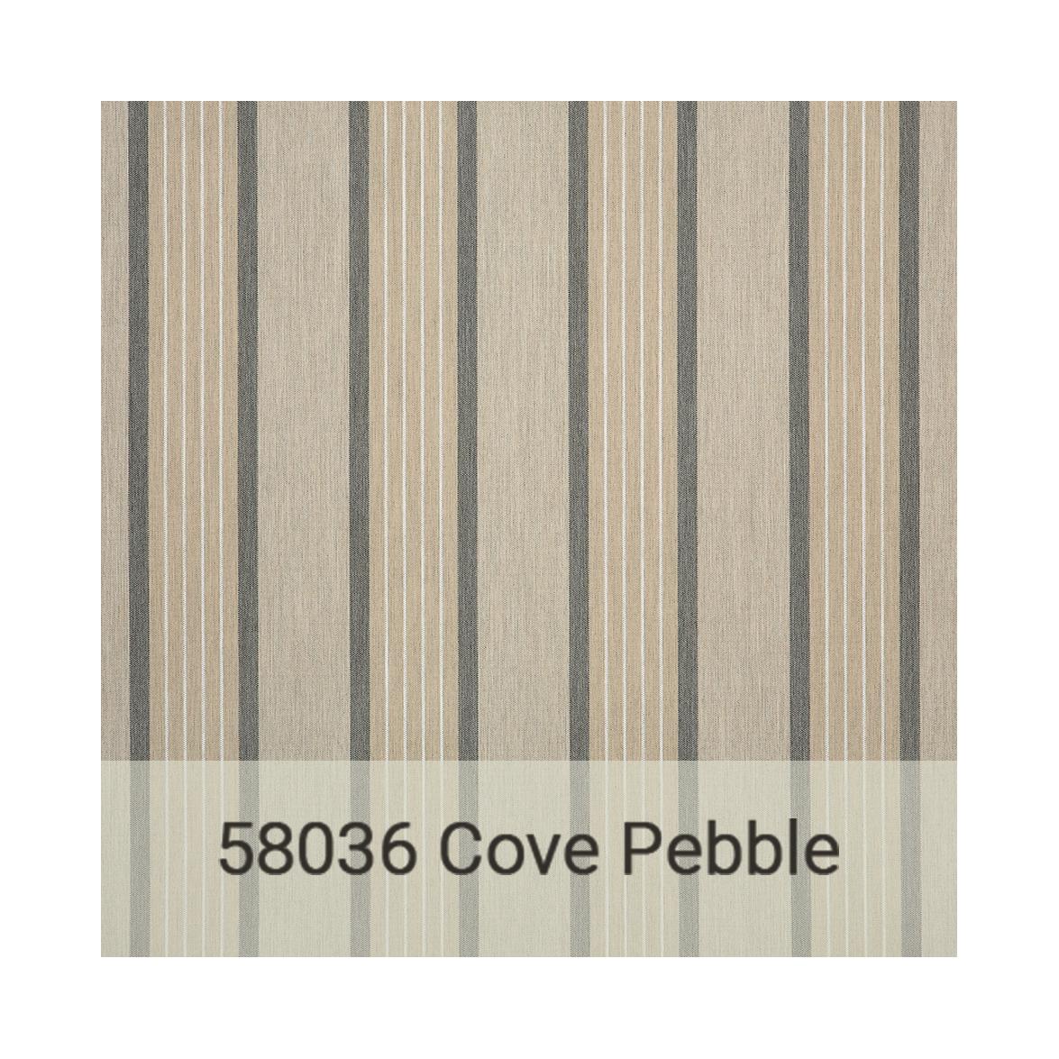 Kingston Casual Sunbrella gradeb-58036-cove-pebble