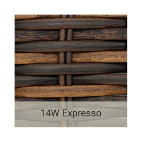 Kingston Casual wicker-14w-expresso