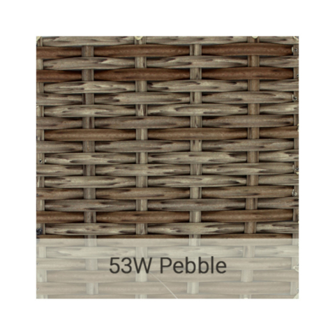 Kingston Casual wicker-53w-pebble