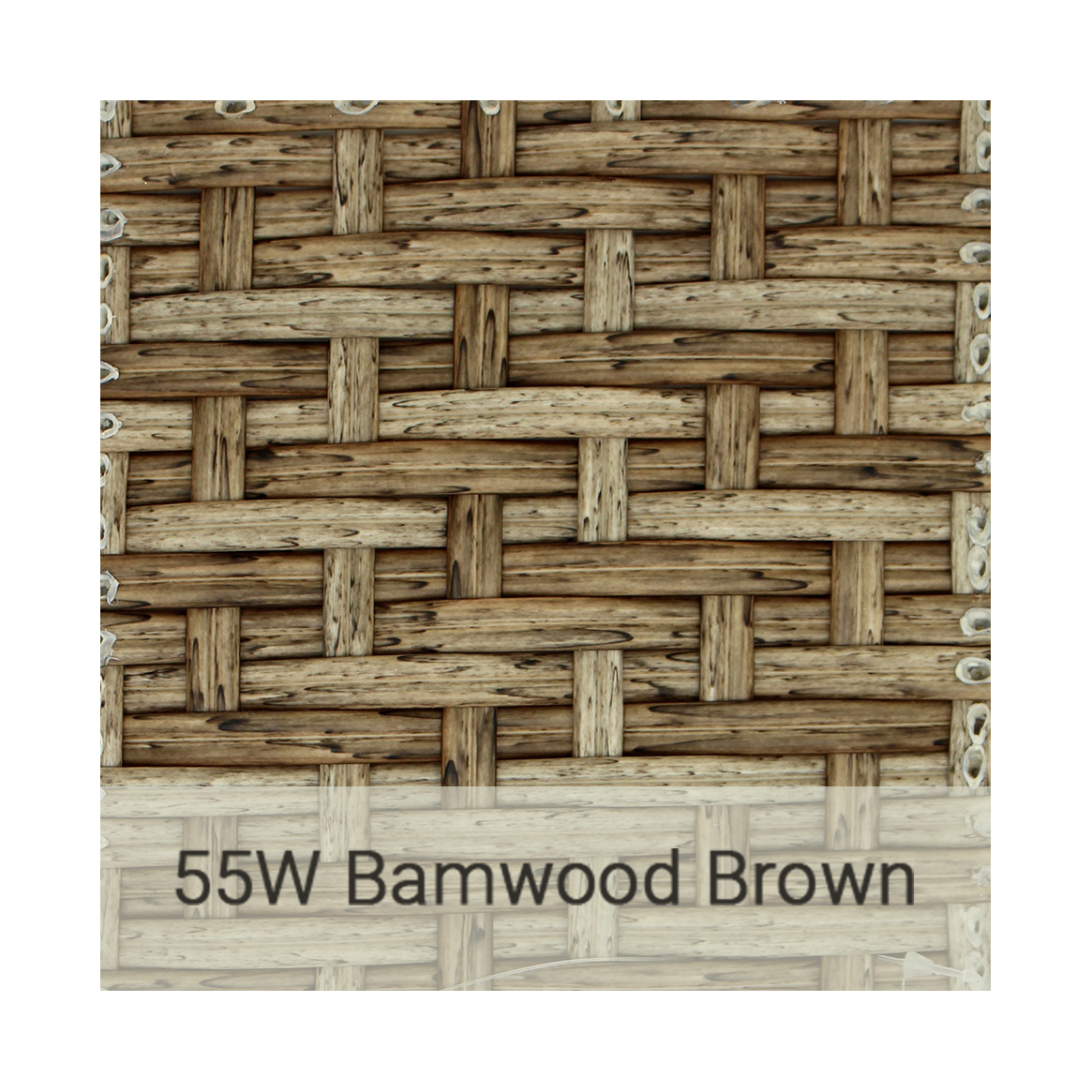 Kingston Casual wicker-55w-barnwood-brown