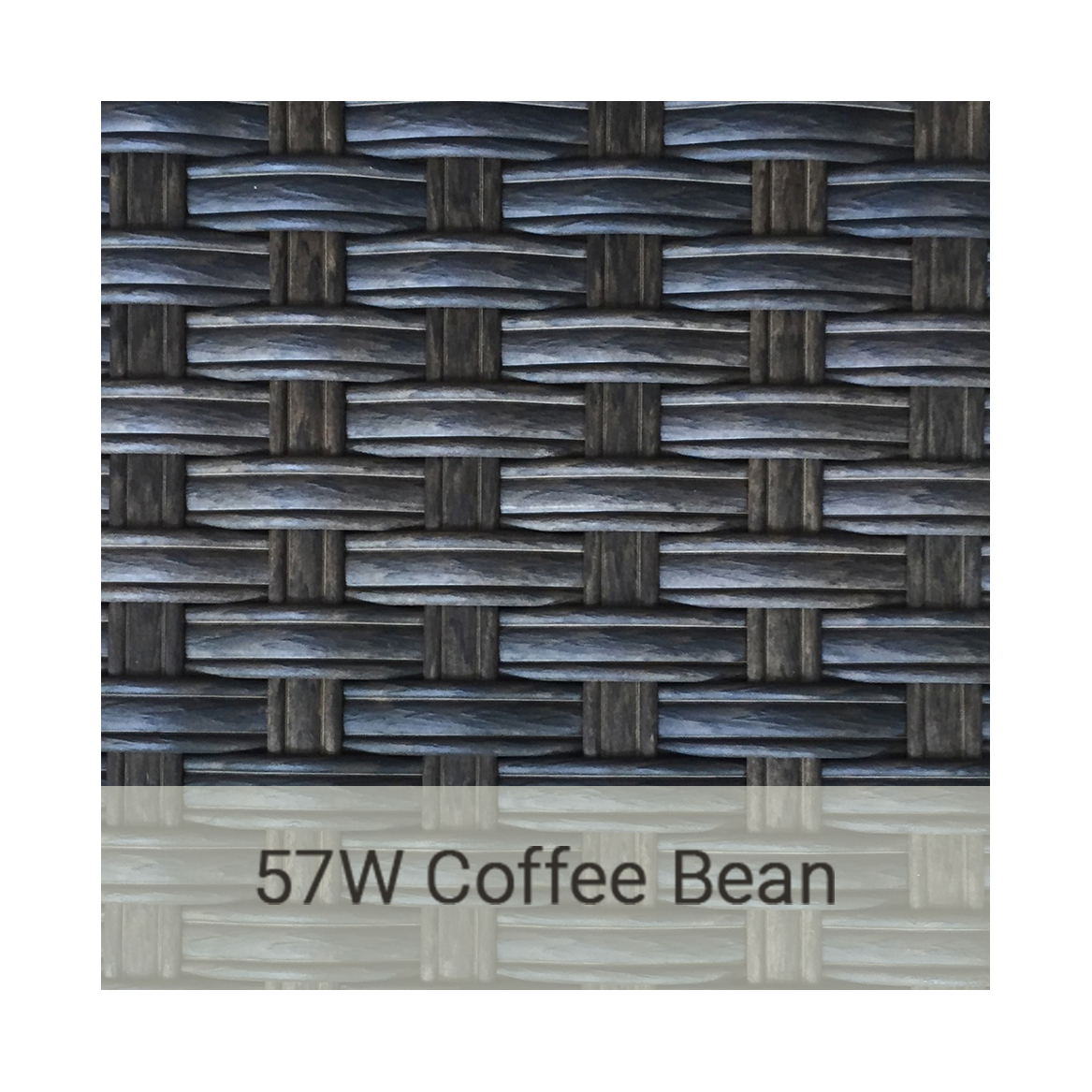 Kingston Casual wicker-57w-coffee-bean