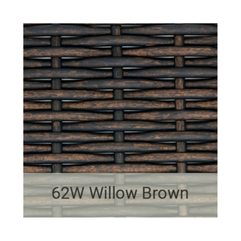 Kingston Casual wicker-62w-willow-brown