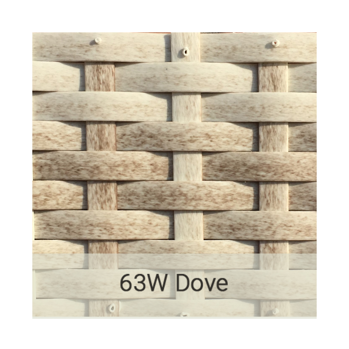 Kingston Casual wicker-63w-dove