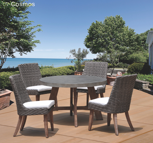 Kingston Casual Cosmos Dining with Round Table