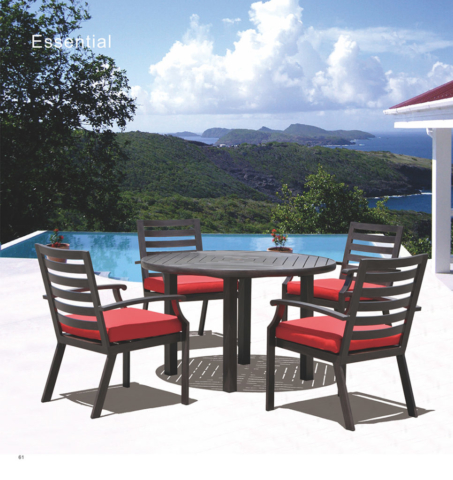 Kingston Casual Outdoor Furniture Essential round table