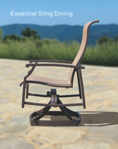 Kingston Casual Outdoor Furniture Essential Sling Chair