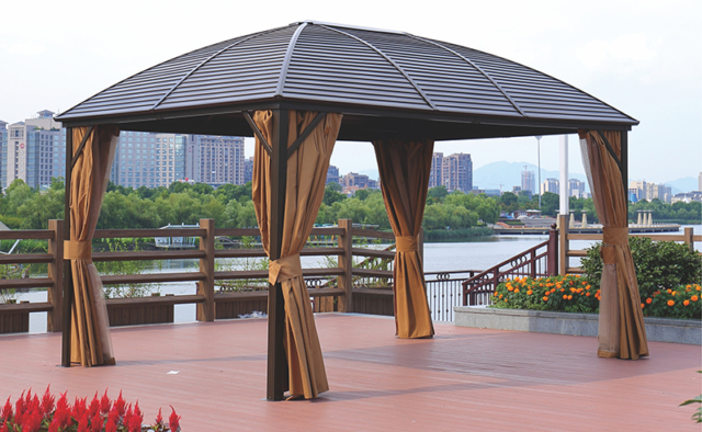 Kingston Casual Hard Roof Gazebo