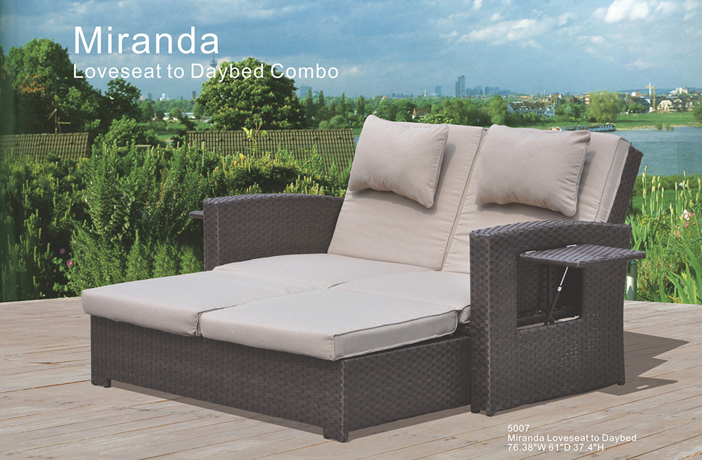 Kingston Casual Outdoor Furniture Miranda Loveseat